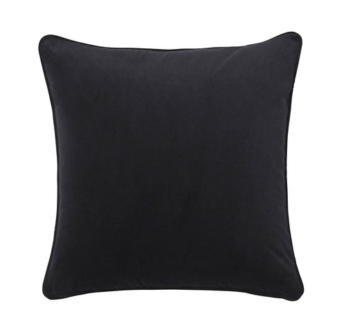 Splendour Cushion - Velvet Black Cushion