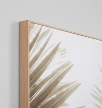 Load image into Gallery viewer, Splendour Canvas Art - Natural Palm 1