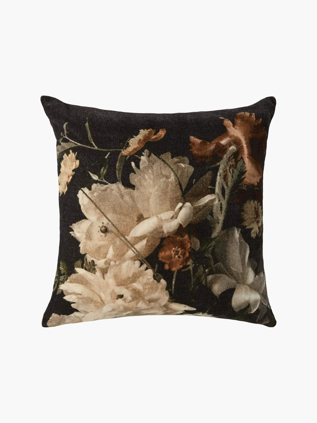 Splendour Cushion - Velvet Forest Floral Cushion