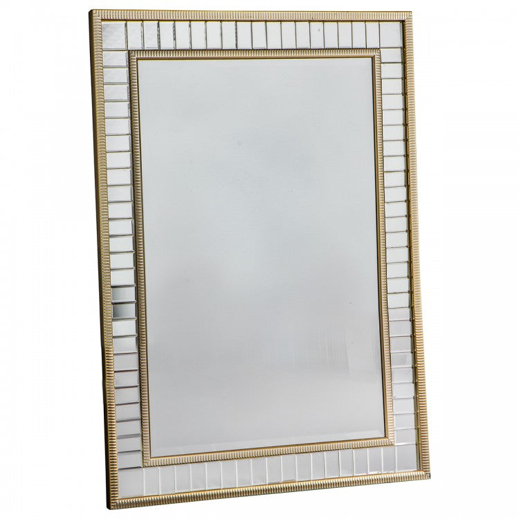 Glam Brass Wall Mirror