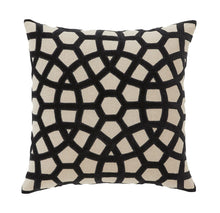 Load image into Gallery viewer, Splendour Cushion - Patterned Onyx Cushion