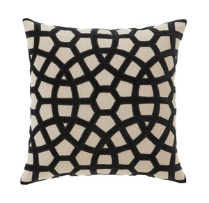 Splendour Cushion - Patterned Onyx Cushion