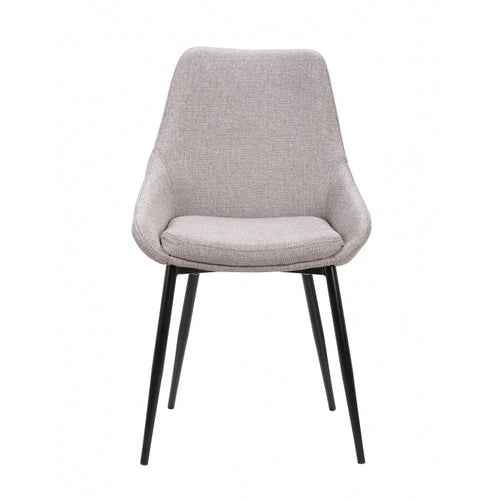 Dining Chair in Soft Grey