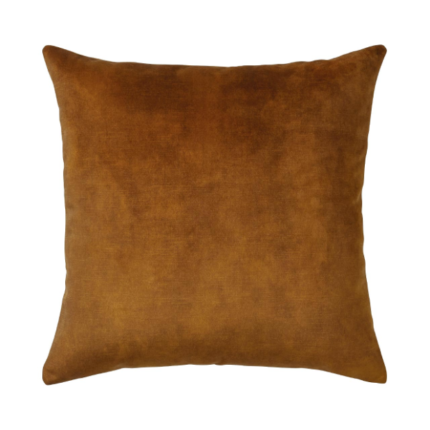 Splendour Cushion - Velvet Ochre Cushion