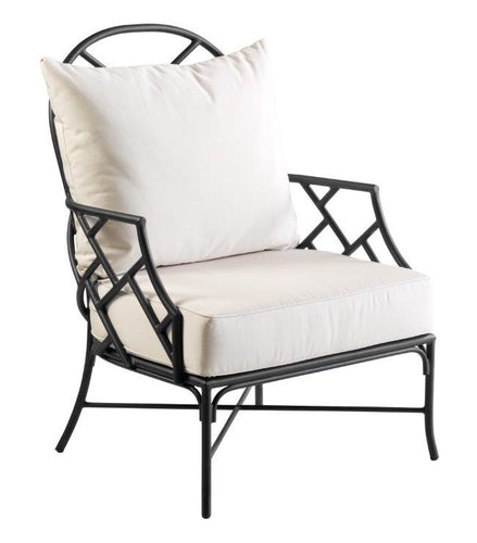 Hamptons Outdoor Iron Occasional Chair