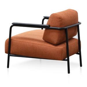 Burnt Orange Armchair