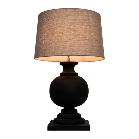 Coach Table Lamp Black Base