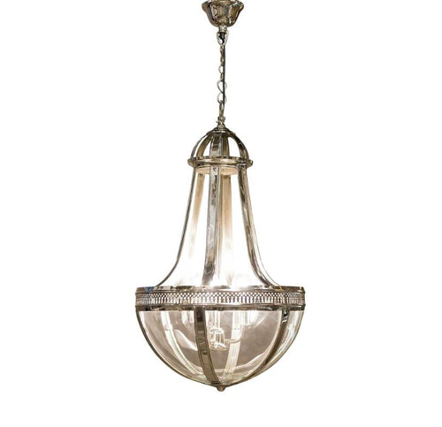 Doma Hanging Lamp in Nickel