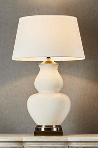 Matisse Table Lamp Cream Base
