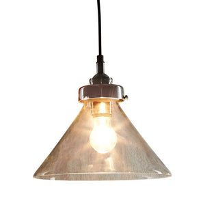 Franklin Hanging Lamp in Antique Silver