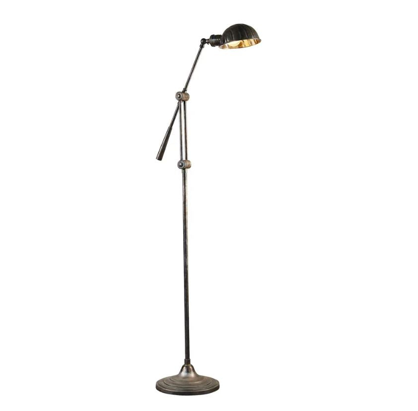 Calais Floor Lamp in Silver