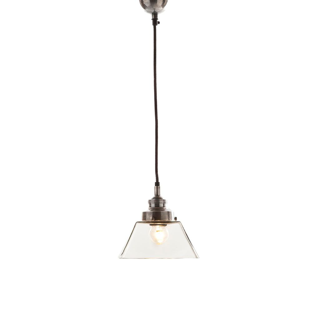 Kent Pendant Light in Antique Silver