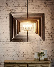 Load image into Gallery viewer, Driftwood Ceiling Light in Brass