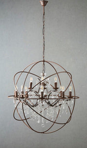 Sundance Chandelier Large in Rust