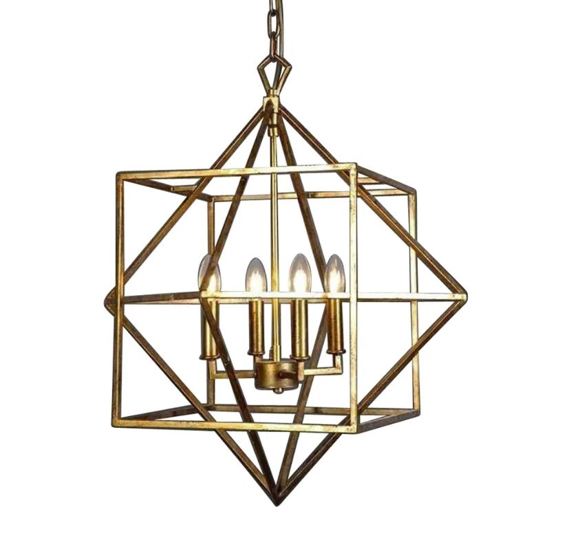 Mosman Ceiling Light in Brass