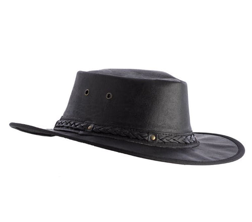Australian Leather Outback Hat