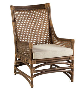 Hamptons Rattan Occasional Chair