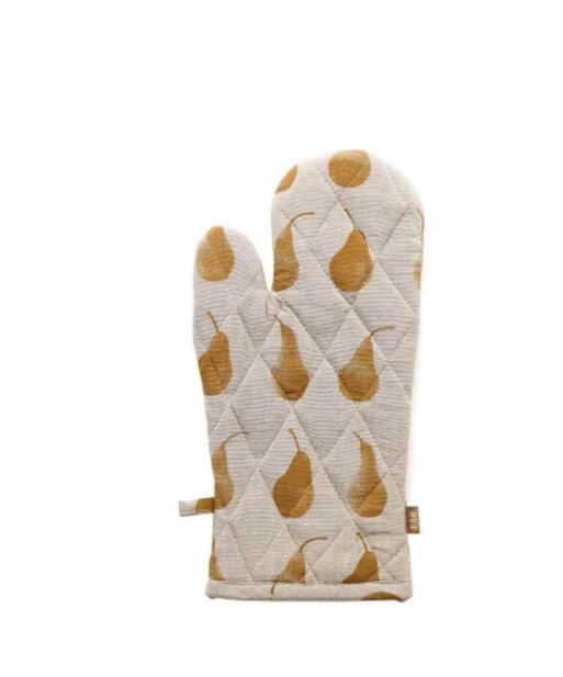 Pear Single Oven Glove Mustard