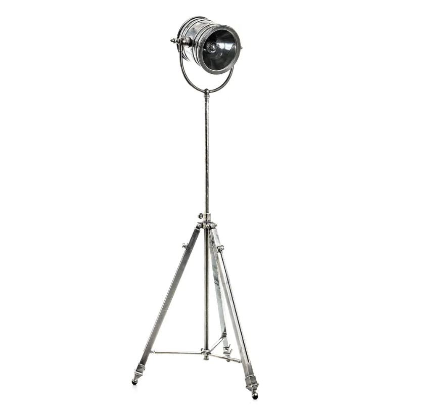 Wilson Floor Lamp in Antique Silver