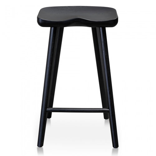Black Timber Bar Stool