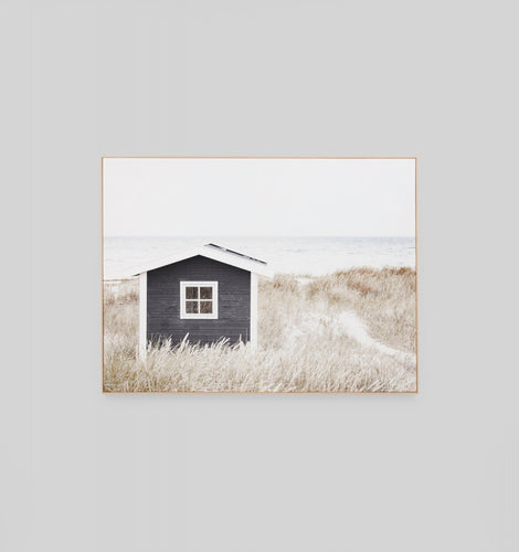 Splendour Canvas Art - Coastal Cottage