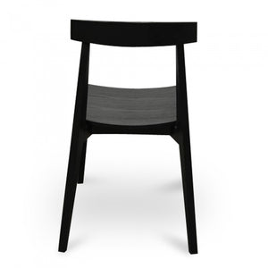 Dining Elbow Chair - Black