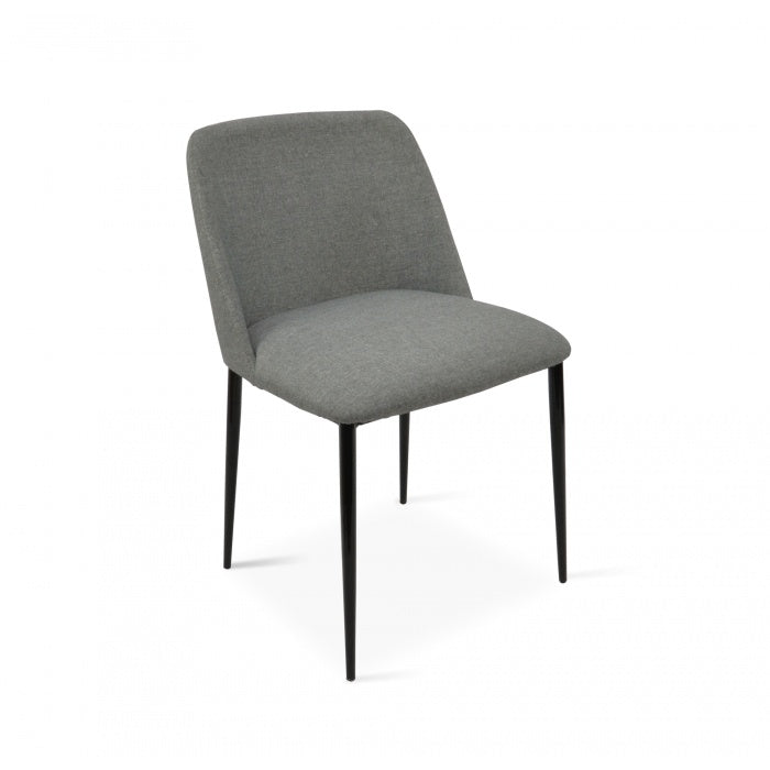 Dining Chair in Dark Grey