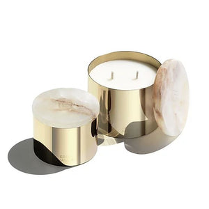 Greg Natale x Cocolux | Brass Onyx Candle in Memory