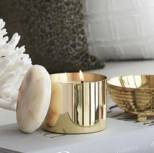 Load image into Gallery viewer, Greg Natale x Cocolux | Brass Onyx Candle in Memory