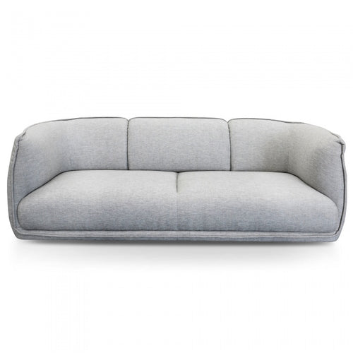 3 Seater Sofa in Light Textured Grey