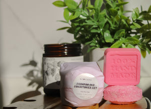 Shampoo & Conditioner Bar Duo For Dry Hair