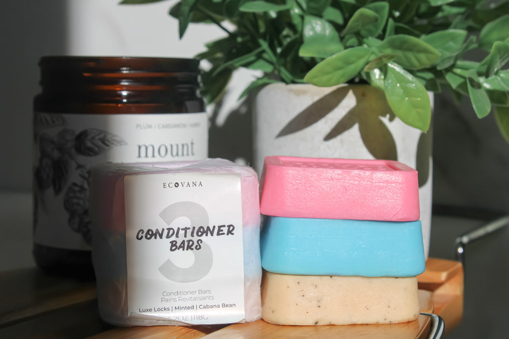 3 Solid Conditioner Bars