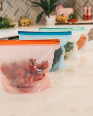 Ecovana Silicone Zip Bags