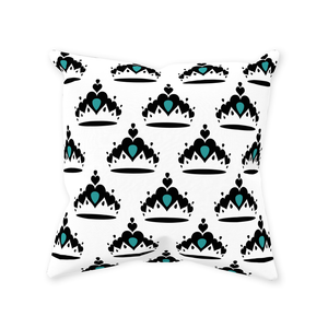 Tiara - Throw Pillows