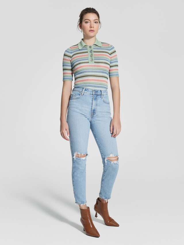 Frankie Jean Ankle Stretch Enlighten