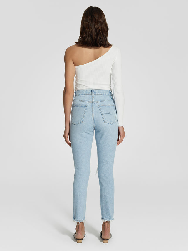 Frankie Jean Ankle Mirrored