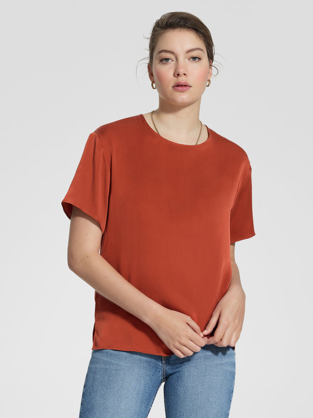 Everly Tee Rust