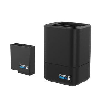 Gopro dual battery charger + battery (hero 5 black)