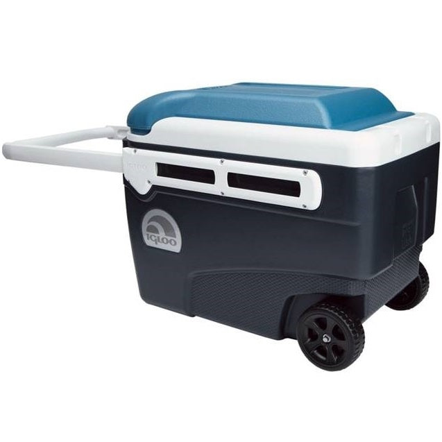 Igloo 40 quart maxcold contour glide roller