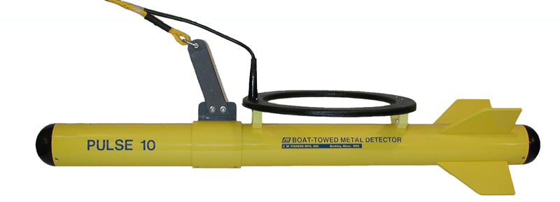 JW Fishers pulse 10 boat towed detector