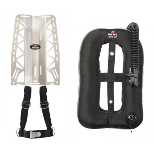 Dive rite xt lite backplate with travel exp wing - SportsCenterSG