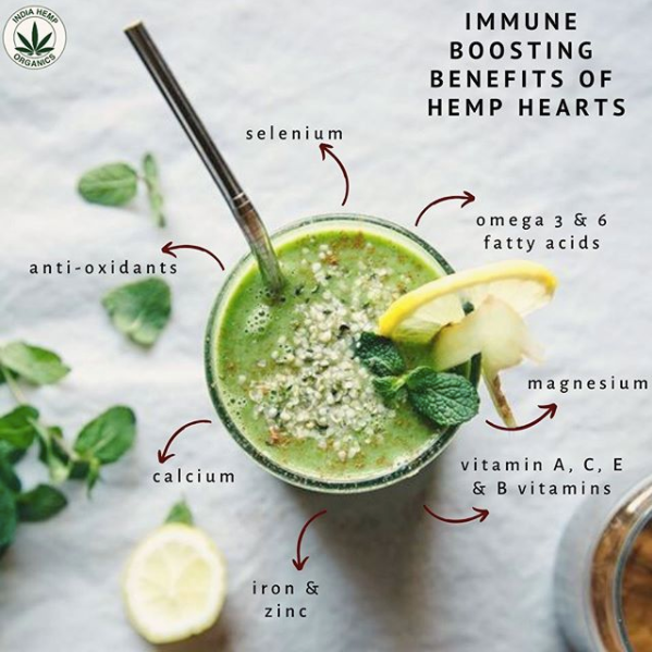 7 reasons why you should include Hemp Hearts in your diet
