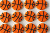 Basketball Cookies -- Photo Credits to http://www.rebeccacakesandbakes.com/basketball-sugar-cookies/