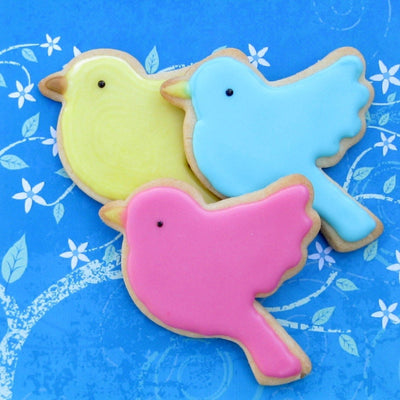 Twitter Bird Cookie Cutter- Stainless Steel