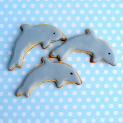 Small Dolphin Cookie Cutter- Stainless Steel