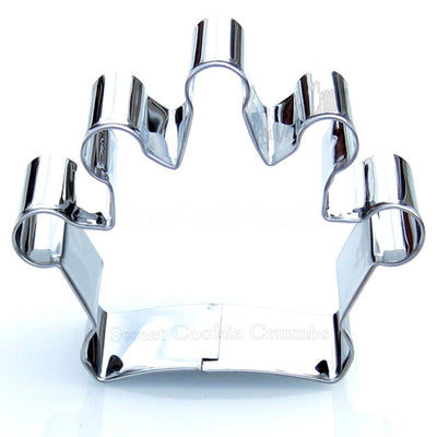 Crown Cookie Cutter - Stainless Steel