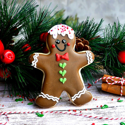 Gingerbread Man Cookie Cutter- Stainless Steel