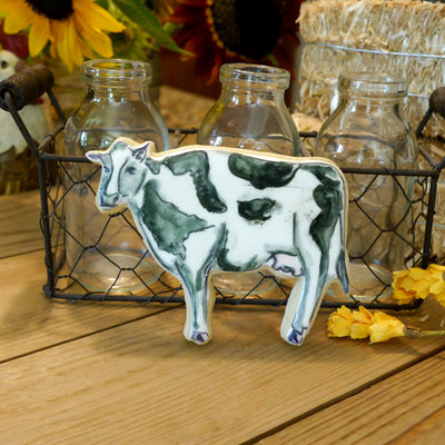 Cow Cookie Cutter- Stainless Steel