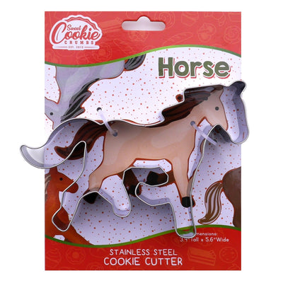Horse Cookie Cutter - Stainless Steel