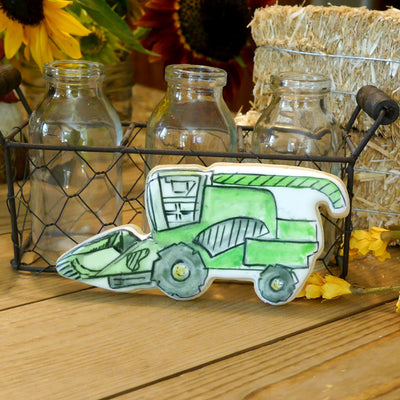 Combine Harvester Cookie Cutter- Stainless Steel